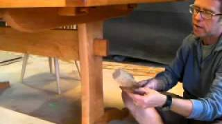 Keyed Mortice And Tenon With Timothy Clark, Cabinetmaker/chairwright