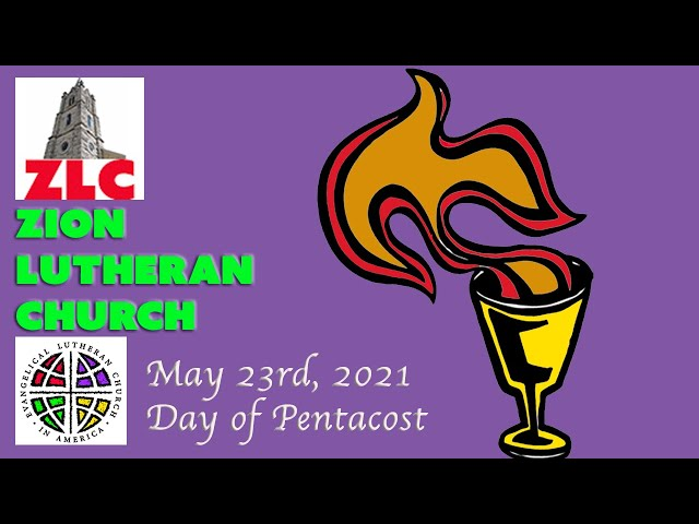 Service - 20210523 - Day of Pentecost