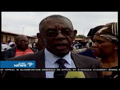 A quite mood prevails at Mangope's home village