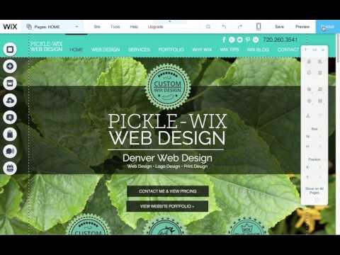 Wix Website Design Facebook Share Image