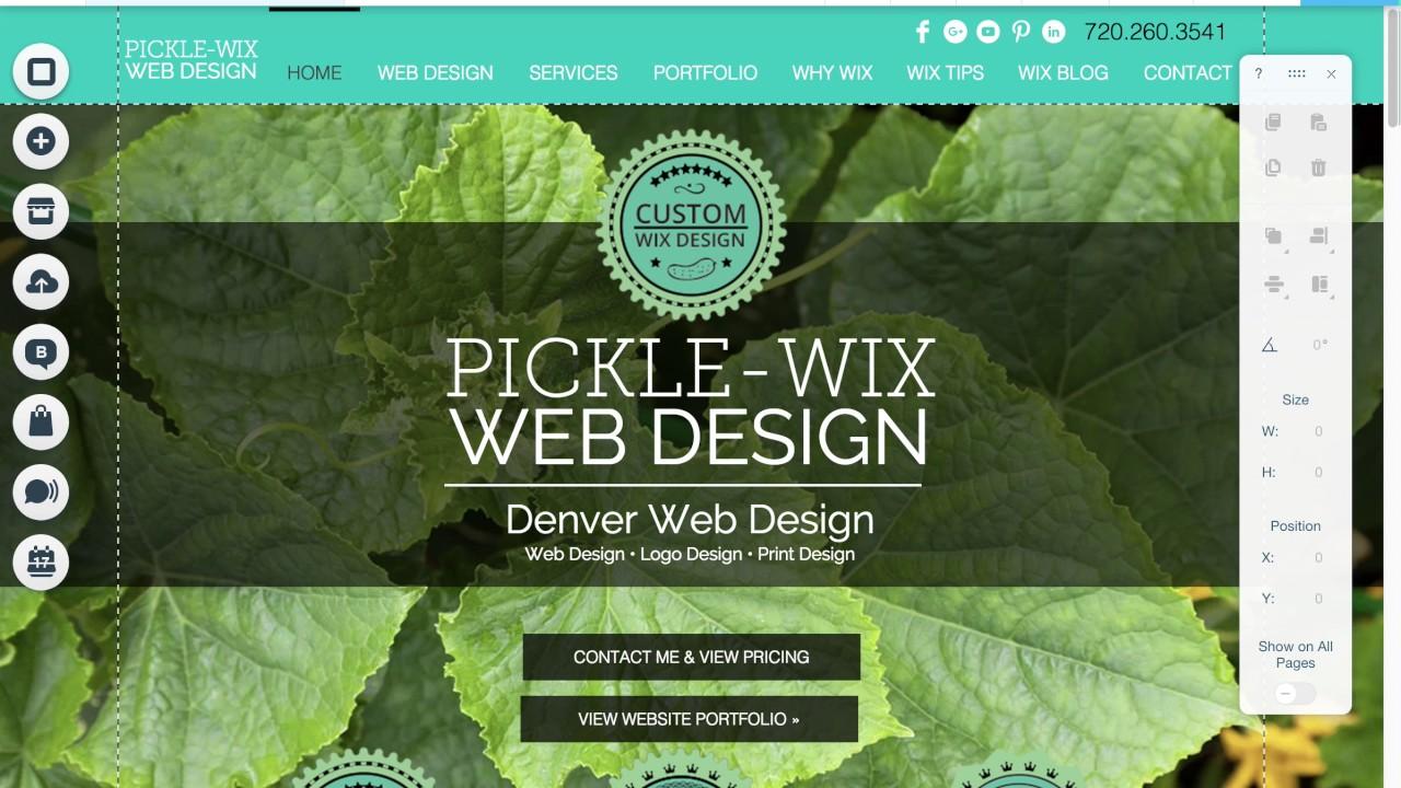 wix website design facebook share image youtube wix website design facebook share image