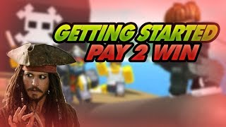 [Roblox] Piraten-Simulator: GETTING STARTED (GOING PAY2WIN W/ SPENDING ROBUX)