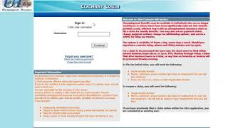 Step 1 – How to Register as a New Claimant for Nevada Unemployment Insurance online claim filing