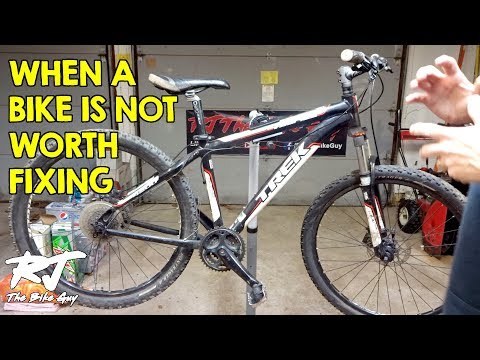 When A Bike Is Not Worth Fixing  Cutting Your Losses