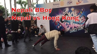 bboying battle nepal vs hong kong