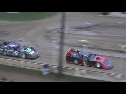 Late Model Heat Race #3 at Crystal Motor Speedway, Michigan on 09-01-2019!