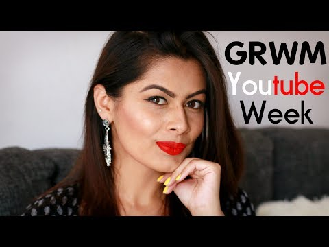 Get Ready With Me : Youtube Week Delhi | GRWM | Kavya K
