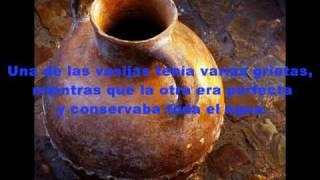 Cuento Hindú La vasija Agrietada.