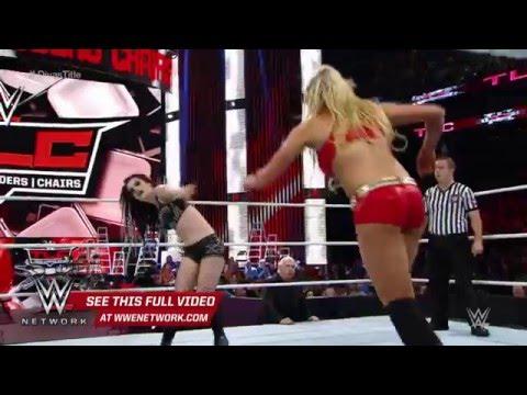 WWE Network  Charlotte vs  Paige  WWE TLC 2015