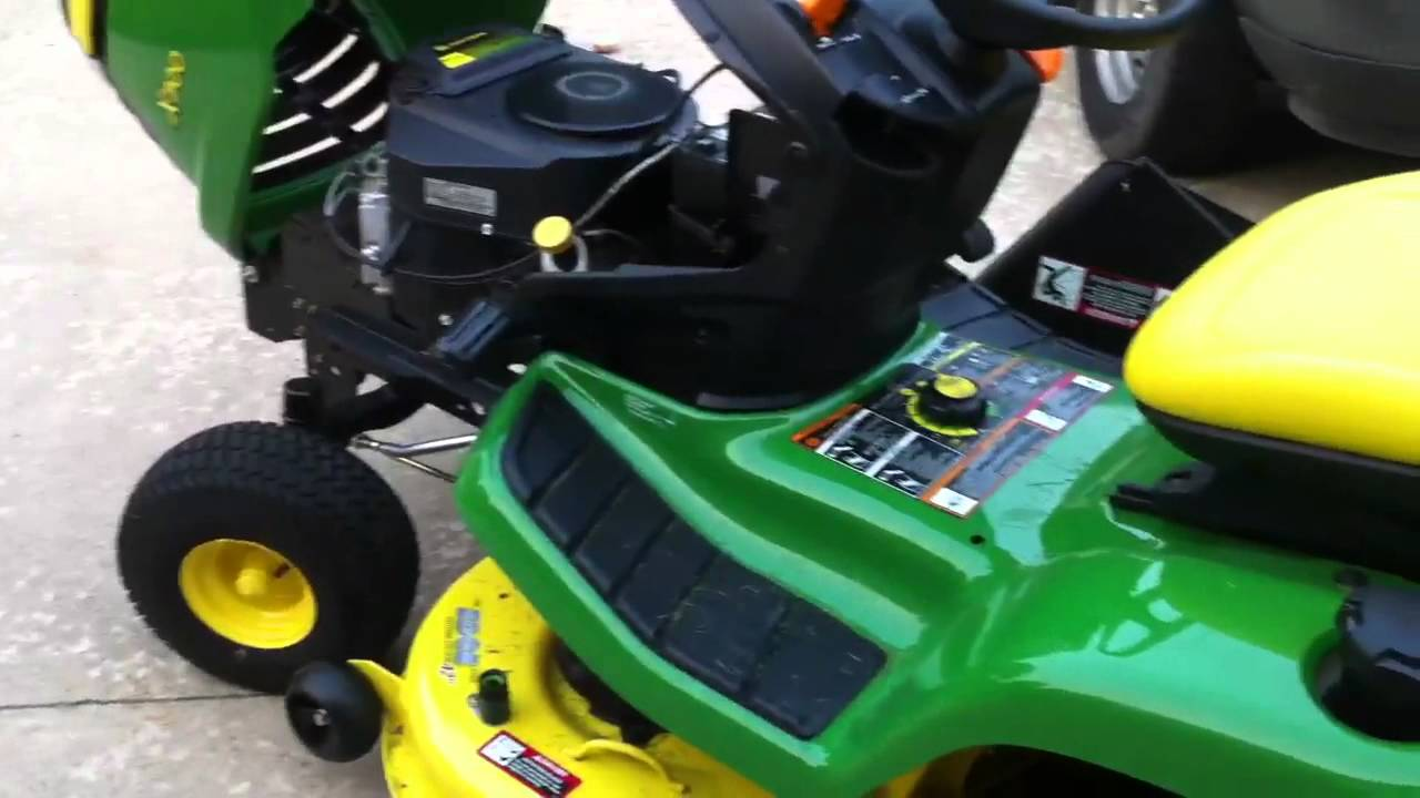 John Deere X300 Short Overview Youtube