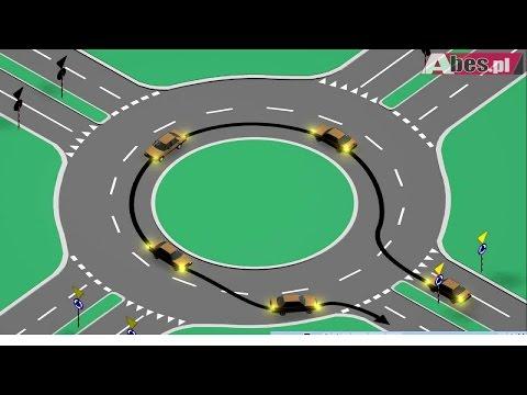 Jak przejechać rondo prosto w prawo w lewo i zawrócić WORD Łódź z OSK Turbo Pabianice from YouTube · Duration:  10 minutes 18 seconds