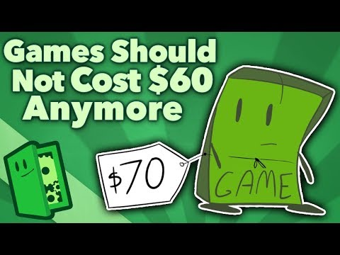 Games Should Not Cost $60 Anymore - Inflation, Microtransactions, and Publishing - Extra Credits