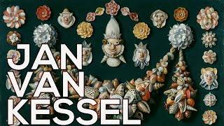 Jan van Kessel: A collection of 134 paintings (HD)