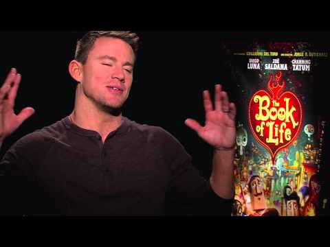 Channing Tatum Interview - The Book Of Life (HD) 2014