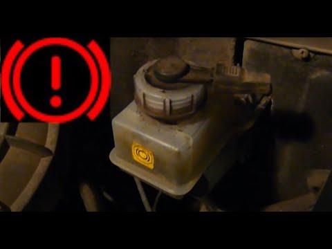 Проверка датчика уровня тормозной жидкости
