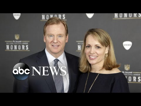 NFL commissioner's wife defended him with Twitter account