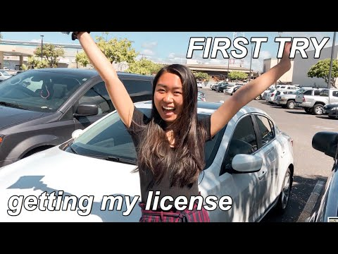 GETTING MY DRIVER'S LICENSE ON THE FIRST TRY