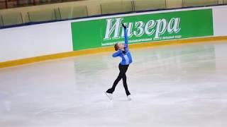 Алена Косторная, ПП на тренировке (Первенство России 2018)