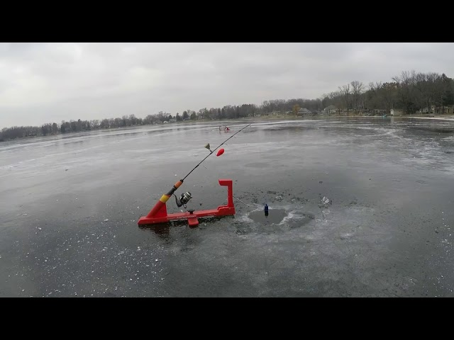 Man Fails to Save Fishing Rod from Sinking into Ice – 1023482