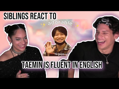Siblings React To Shinee Is Back And Taemin Is Now Fluent In English | REACTION