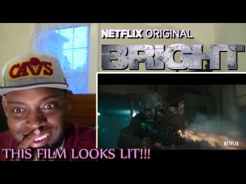 Thumbnail: Bright Trailer #1 REACTION!!!