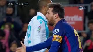 Barcelona vs Deportivo La Coruna 4-0 - All Goals  Highlights