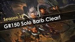 Diablo 3 GR150 Solo Barb Clear