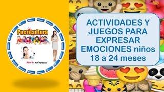 vuclip Actividades y juegos para niños - actividades para expresar emociones y sentimientos - 18 a 24 meses