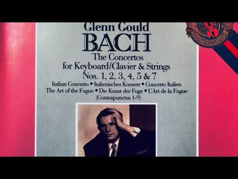 Bach - The Keyboard Concertos / New Mastering (Century's recording : Glenn Gould)