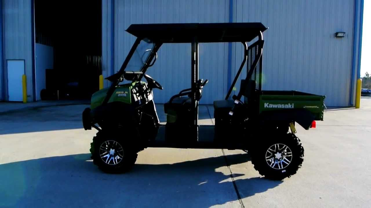 Kawasaki Mule Transsel With Top Windshield