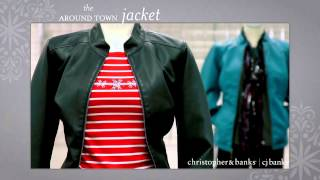 Christopher & Banks / CJ Banks Must Have Around Town Jacket Thumbnail