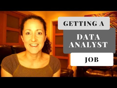 How To Get A Job As A Data Analyst [2019]