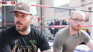 JIMMY KELLY AND LEE BEARD; HOMECOMING FOR EUROPEAN TITLE FIGHT