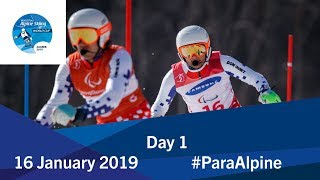 Day 1   Run 1   World Para Alpine Skiing World Cup   Zagreb 2019