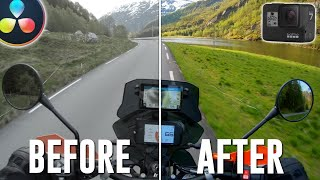 How To Fix Your Motorcycle GoPro Footage Hero 7 8 \u0026 9