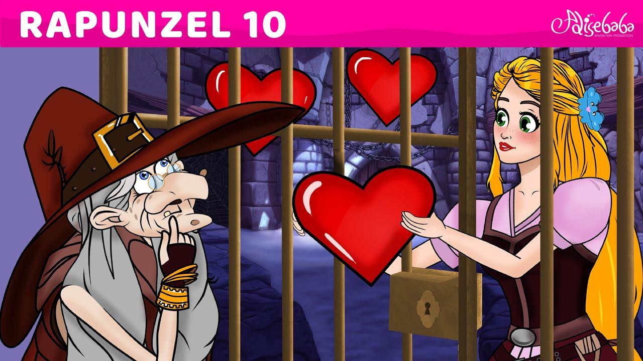 Rapunzel Serie Parte 10 - Los Tres Grandes Favores (NUEVO) Cuentos infantiles para dormir en Español