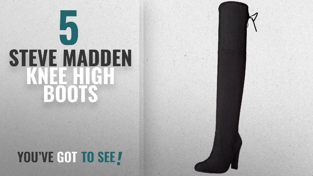 a78abf3c83b Top 5 Steve Madden Knee High Boots  2018   Steve Madden Women s Gorgeous  Winter Boot
