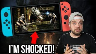 Dark Souls Remastered on Switch - SHOCKINGLY Good?! | RGT 85