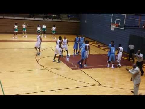 Troy Causey #30 Wilmer Hutchins High School vs. Dallas Madison 1/18/14