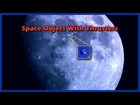 Spaceship Like Object With Thruster Engines Examined