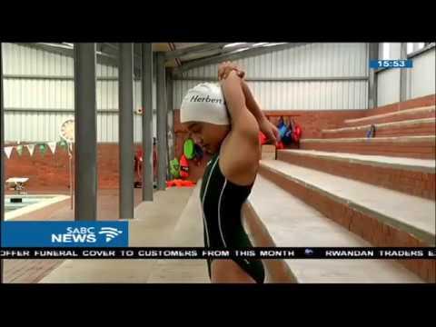 Myra of Port Elizabeth setting her eyes for the Olympics