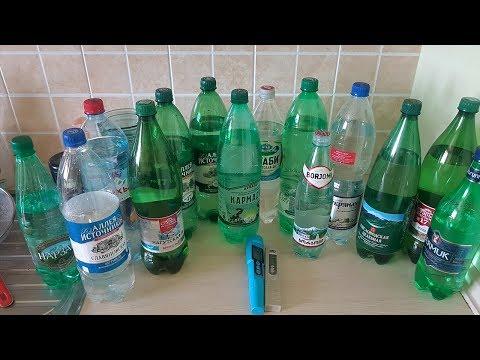 Тестируем 14 бутылок минеральной воды. Смотрим Ph, овп и минерализацию.