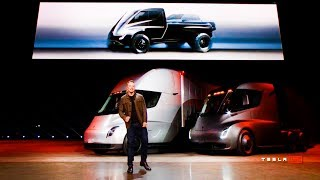 Tesla Semi Pickup Unveil 11/16/17