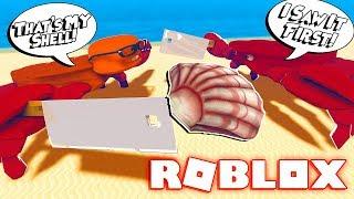 ROBLOX CRAB SIMULATOR!! (CRAB FIGHTS)