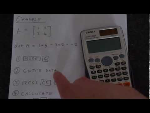 Determining inverse matrices on the ti83/84 youtube.