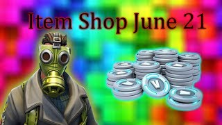 Fortnite BR Item Shop June 21│*New* Sky Stalker Skin!!!