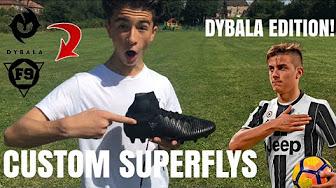19aaf75a3da8 Making dybala shoes - YouTube