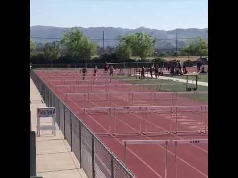 Joshua Hannah's 15.10 110m hurdles time