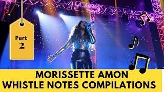 [PART 2] Morissette Amon Whistle Notes Compilations