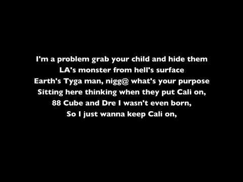 Cali Love Tyga Lyrics